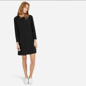 Everlane Silk Long Sleeve Dress Sz L